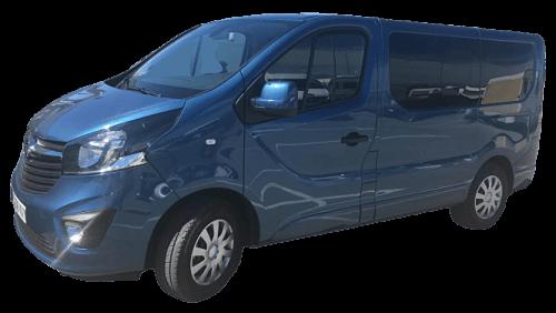 furgoneta vivaro 9 plazas - Alquiler de Furgonetas en Granada